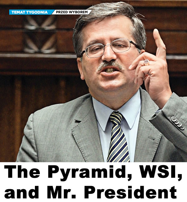 The Pyramid, WSI, and Mr. President