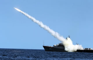 "Russia attacks ISIS from the sea. The ""astonishing"" accuracy of Russian missile systems."